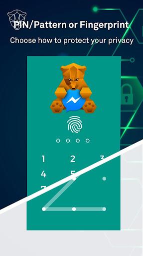 App Lock: फिंगरप्रिंट, अभिभावकीय नियंत्रण के साथ screenshot