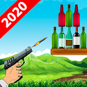Bottle Shooting 2019 Game: Aim and Shoot icon