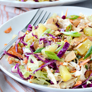Tropical Chicken Slaw Salad