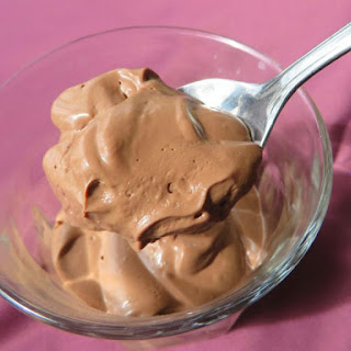 Silky Chocolate Mousse, Low Carb Vegan.
