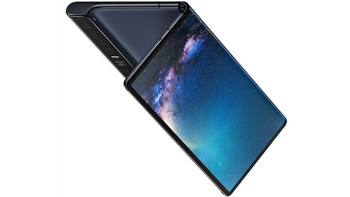 The Huawei Mate X has one screen that folds back on itself.