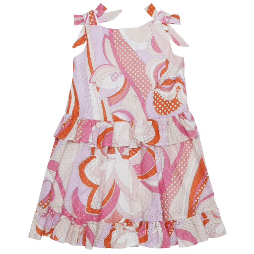Thumbnail images of Emilio Pucci Sleeveless Bow Dress