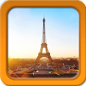 Sunny Paris Live Wallpapers icon