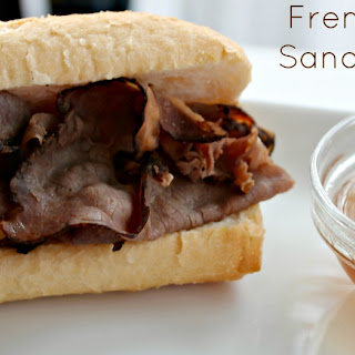 {Crock Pot} French Dip Sandwiches