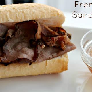 {Crock Pot} French Dip Sandwiches.