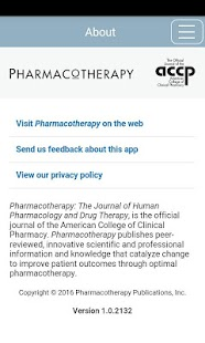 Pharmacotherapy- screenshot thumbnail