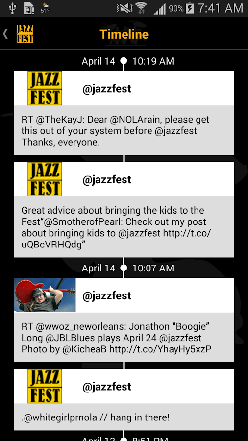 New Orleans Jazz Festival - screenshot