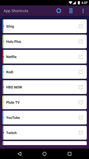 App Shortcuts for Fire TV for PC
