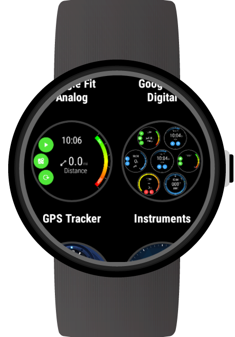 GPS Tracker for Wear OS (Android Wear) screenshots