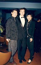 Photo: With Chris Malig and Sally's friend June @ the old Carlton Hotel, Kowloon - 6th November 1986  @ 'Raging Bull' my 30th birthday party.