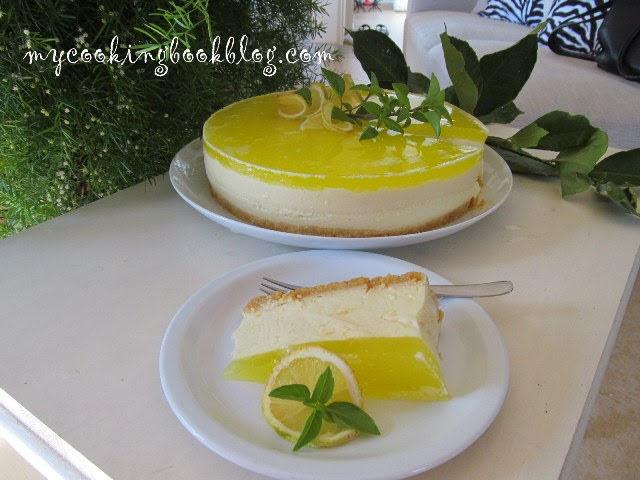 Лимонов чийзкейк (без печене)