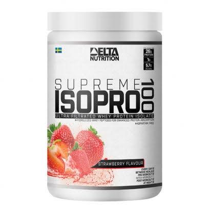 Delta Supreme ISO PRO 100, 900g - Strawberry