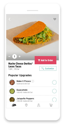 Screenshot for Taco Bell in United States Play Store