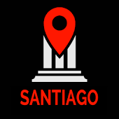 Santiago Travel Guide & Map Offline