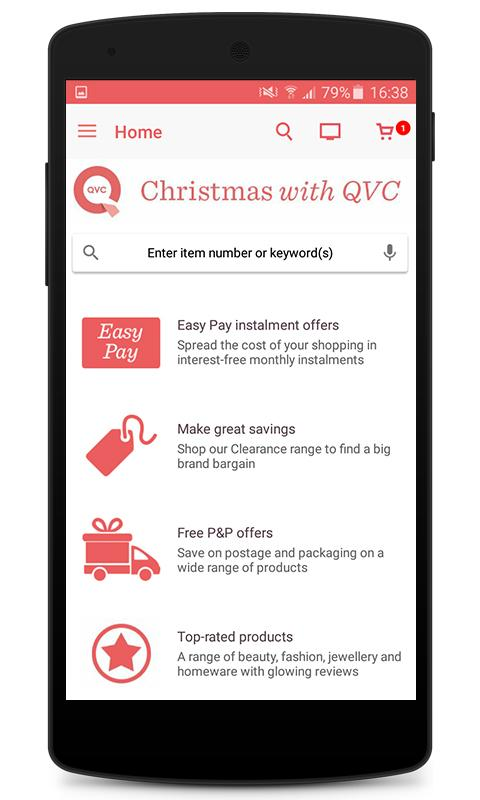 QVC (UK)- screenshot