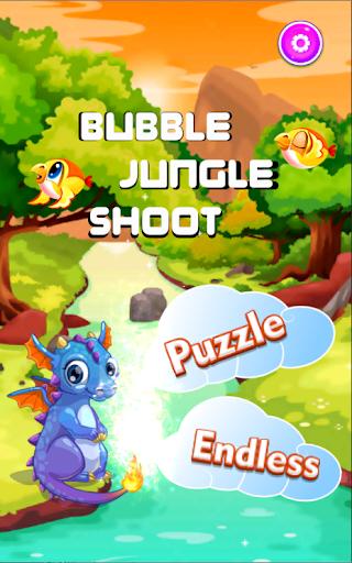 Bubble Jungle Shoot