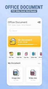 Office document – PDF, Slide, Excel, Word Reader 1