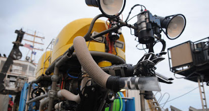 Photo: NURTEC's Kraken-2 ROV (Photo credit: Andy David/NMFS)