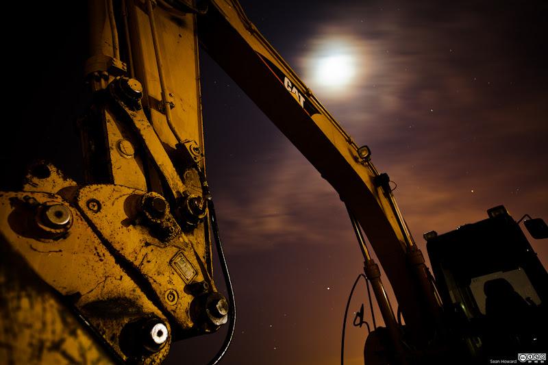 Photo: Beach construction on Ashbridges BAy