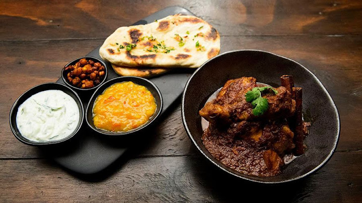 Chicken Curry and Naan Bread Recipe