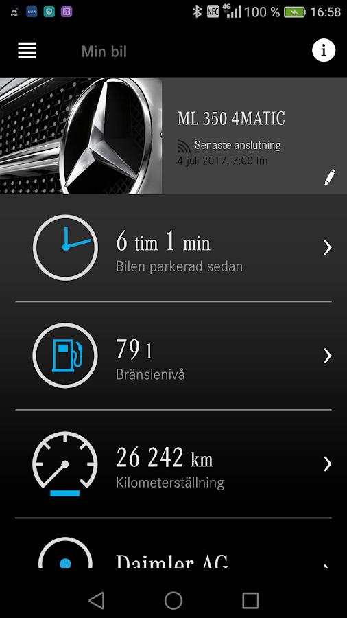 mercedes me adapter android appar p google play. Black Bedroom Furniture Sets. Home Design Ideas