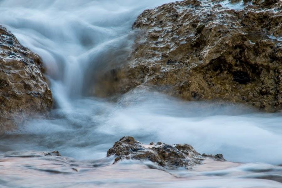 Slow water by Marko Hajdarović - Nature Up Close Water ( water, exposure, shutter, sea, slow, long )