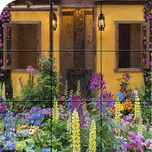 Puzzle - Beautiful backyard (game)