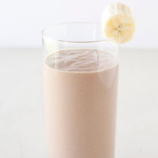 Peanut Butter Banana Smoothie.