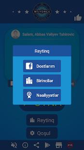 Milyonçu 2018 - Azerice Milyoner bilgi yarışması Ekran Görüntüsü