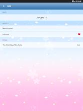 Period Tracker for Women: Menstrual Cycle Calendar screenshot thumbnail