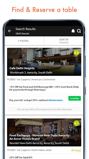 Dineout: Restaurant Booking, Reviews & Food Deals  screenshots 3