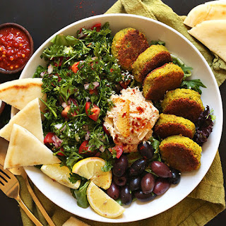 The Ultimate Mediterranean Bowl.