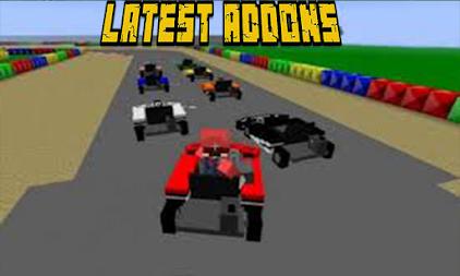 Go Kart Addons Mod for Minecraft PE APK Download com addons mods