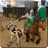 Roman Warriors & Futuristic Combat: Castle Defense