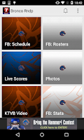 Screenshot of Boise State Bronco Roundup