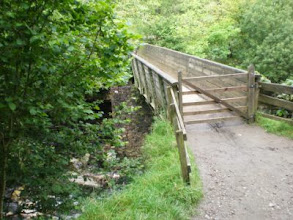 Photo: PW - From Great Shunner Fell to Tan Hill: bridge over River Swale