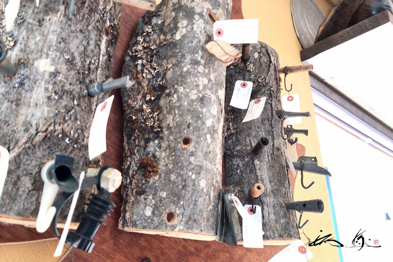樹液を採るカエデの樹