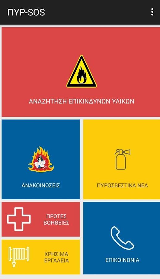 ΠΥΡ-SOS - στιγμιότυπο οθόνης