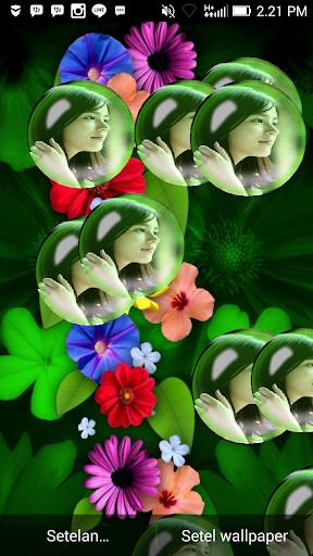 Flower Bubble Live Wallpaper