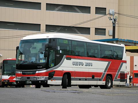 北海道中央バス「ドリーミントオホーツク号」 3948 網走バスターミナルにて