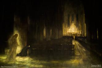 Photo: The Presence gemalt von dem Edinburgh Künstler A E Borthwick im Jahre 1910