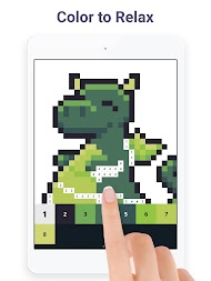 Pixel Art: Color by Number Game APK screenshot thumbnail 12
