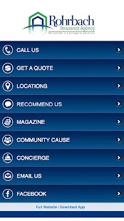 Rohrbach Insurance Agency- screenshot thumbnail