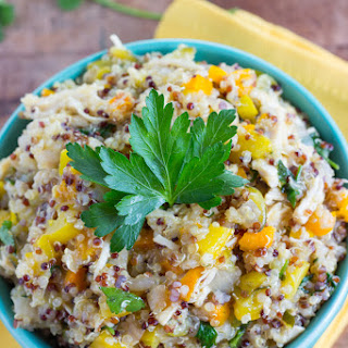 One Pot Quinoa & Vegetable Dish.