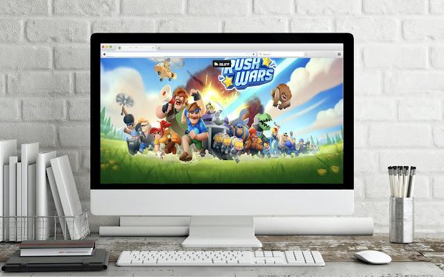 Game Theme: Rush Wars