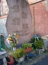 """Photo: Lapide commemorativa a """"La Botte"""""""
