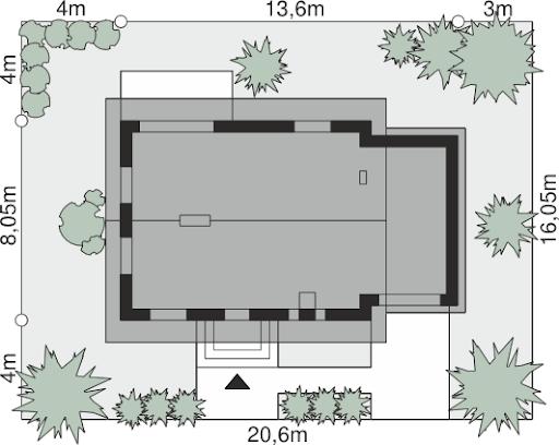 Dom przy Imbirowej 6 N - Sytuacja