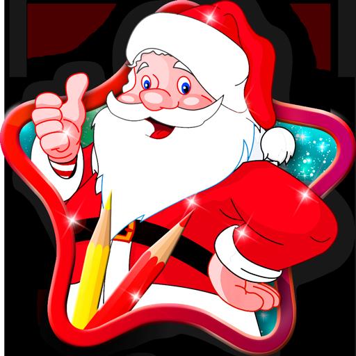 Buku Mewarnai Santa Claus Aplikasi Di Google Play