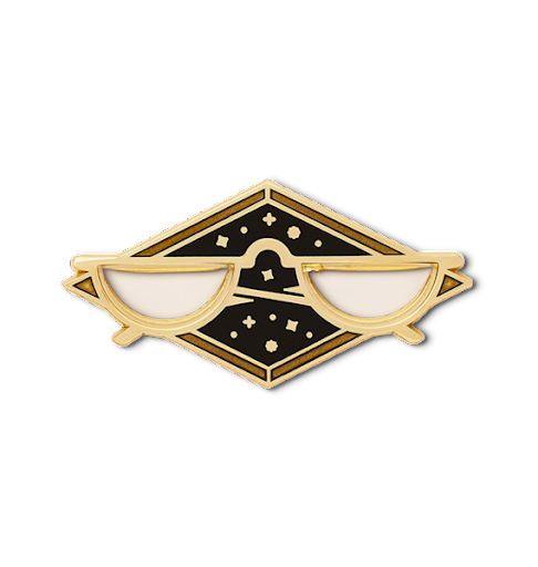 Dumbledore's Objects – the Latest Enamel Pins from Harry Potter Fan Club