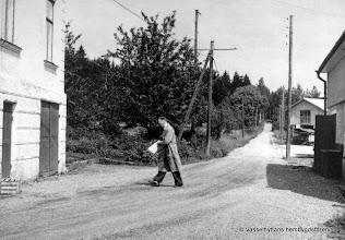 Photo: Affär. Oskar David Fransson 1950-tal